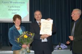 Dorpsprijs 2005 Gert Woutersen -klein