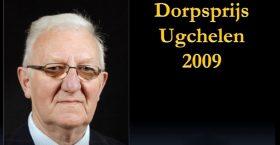 Dorpsprijs 2009 voor Wim de Haas