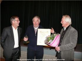 Dorpsprijs 2011 Wim Kers