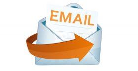Geef uw E-mailadres even aan ons door!!