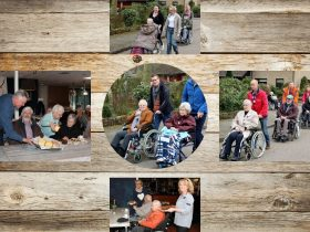Collage Wandeltocht NLDoet